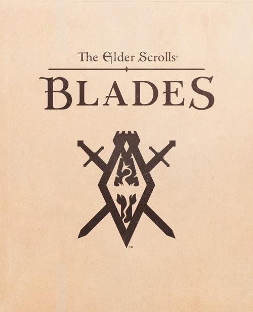 Cover for The Elder Scrolls: Blades.