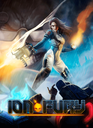 Cover for Ion Fury.