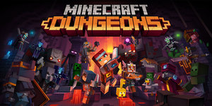 Cover for Minecraft: Dungeons.