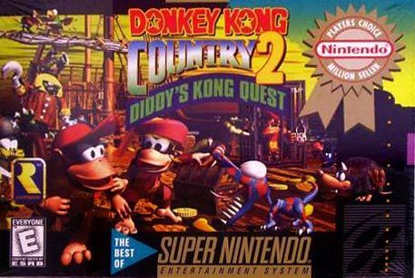 Cover for Donkey Kong Country 2: Diddy's Kong Quest.