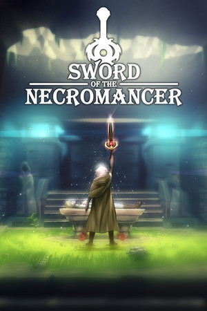 Cover for Sword of the Necromancer.