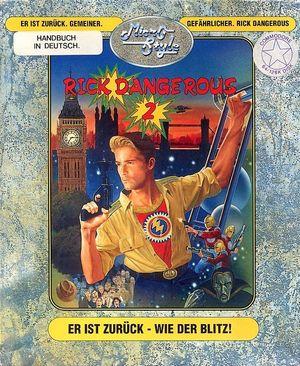 Cover for Rick Dangerous 2.