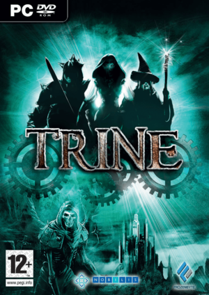 Cover for Trine.