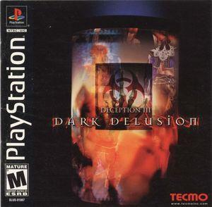 Cover for Deception III: Dark Delusion.