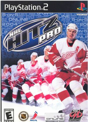 Cover for NHL Hitz Pro.
