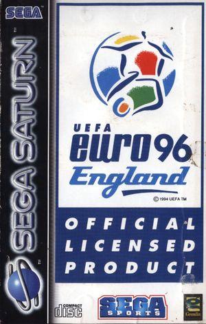 Cover for UEFA Euro 96 England.