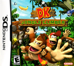 Cover for Donkey Kong: Jungle Climber.