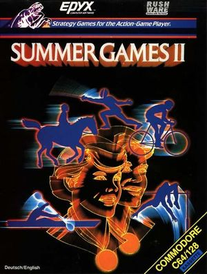 Cover for Summer Games II.