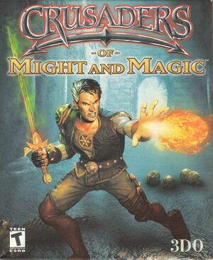 Cover for Crusaders of Might and Magic.