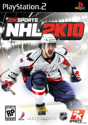 Cover for NHL 2K10.