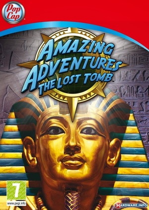 Cover for Amazing Adventures The Lost Tomb.