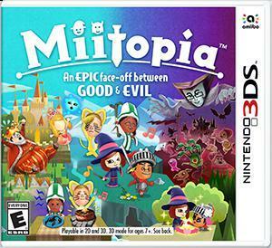 Cover for Miitopia.