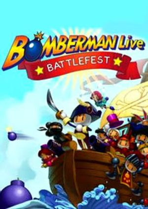 Cover for Bomberman Live: Battlefest.