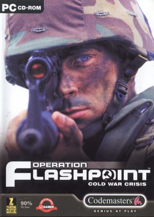 Cover for Operation Flashpoint: Cold War Crisis.