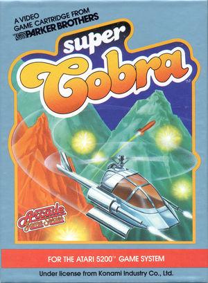 Cover for Super Cobra.