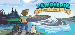 Cover for PewDiePie: Legend of the Brofist.