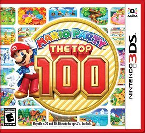 Cover for Mario Party: The Top 100.