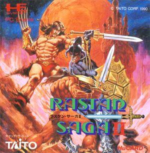 Cover for Rastan Saga II.
