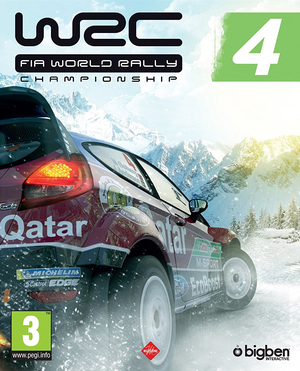 Cover for WRC 4: FIA World Rally Championship.