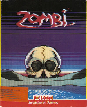 Cover for Zombi.