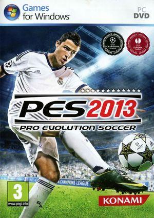 Cover for Pro Evolution Soccer 2013.