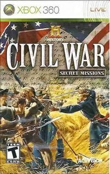 Cover for History Civil War: Secret Missions.