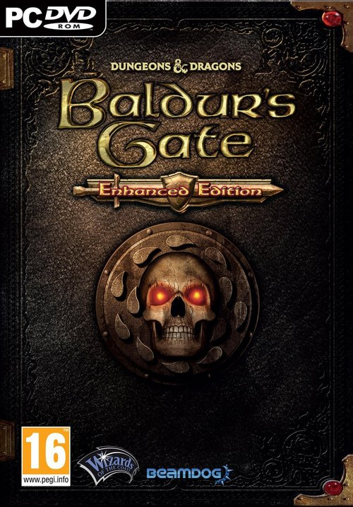 Cover for Baldur's Gate: Enhanced Edition.