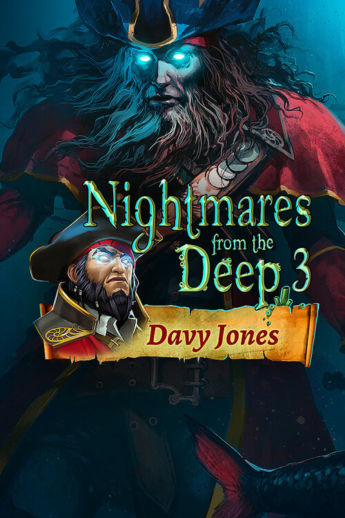 Cover for Nightmares from the Deep 3: Davy Jones.