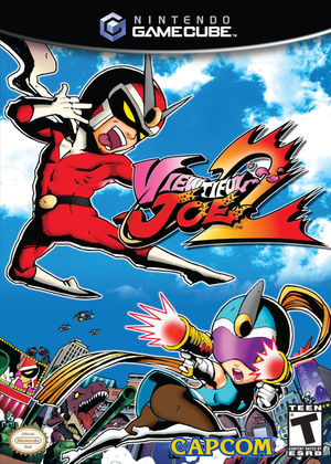 Cover for Viewtiful Joe 2.