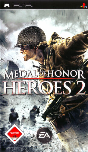 Cover for Medal of Honor: Heroes 2.