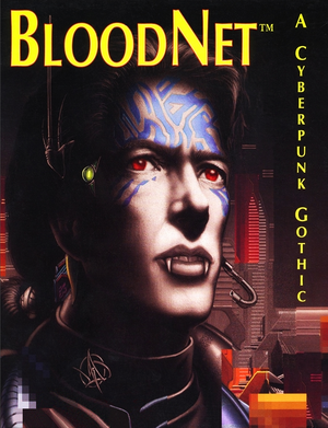 Cover for BloodNet.