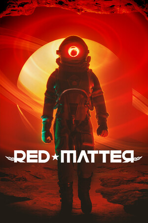 Cover for Red Matter.