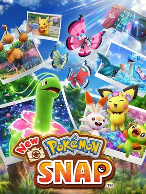 Cover for New Pokémon Snap.