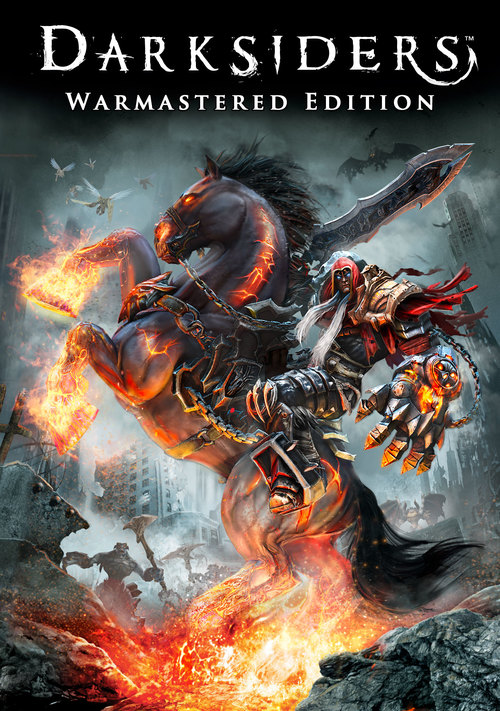 Cover for Darksiders: Warmastered Edition.