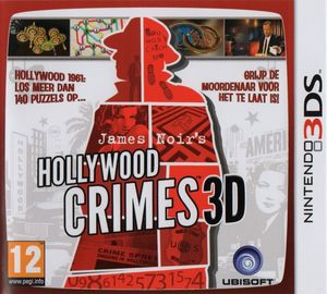 Cover for James Noir's Hollywood Crimes.