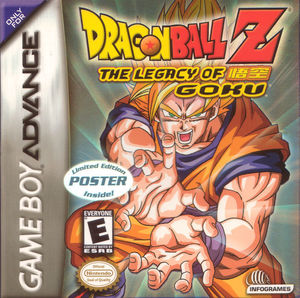 Cover for Dragon Ball Z: The Legacy of Goku.