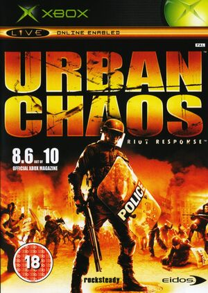 Cover for Urban Chaos: Riot Response.