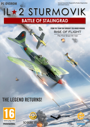 Cover for IL-2 Sturmovik: Battle of Stalingrad.