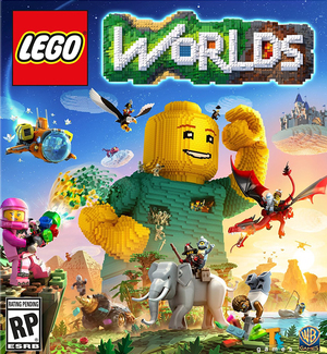 Cover for LEGO Worlds.