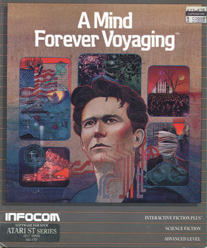Cover for A Mind Forever Voyaging.