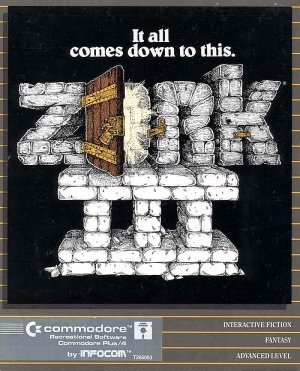 Cover for Zork III.