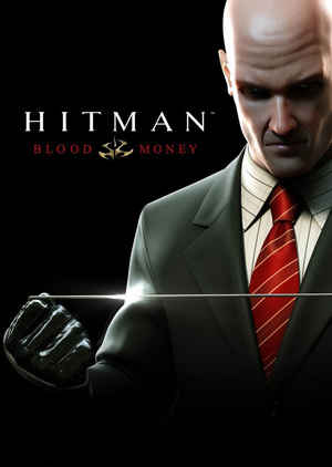 Cover for Hitman: Blood Money.