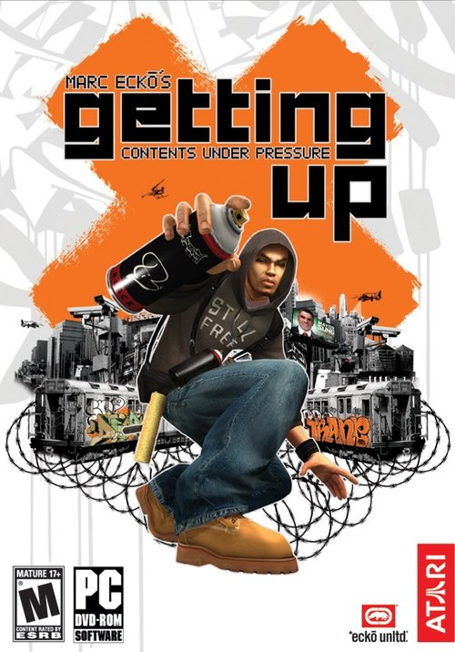 Cover for Marc Eckō's Getting Up: Contents Under Pressure.
