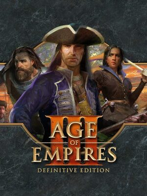 Cover for Age of Empires III: Definitive Edition.