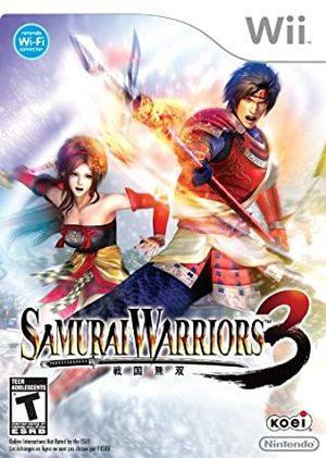 Cover for Samurai Warriors 3.