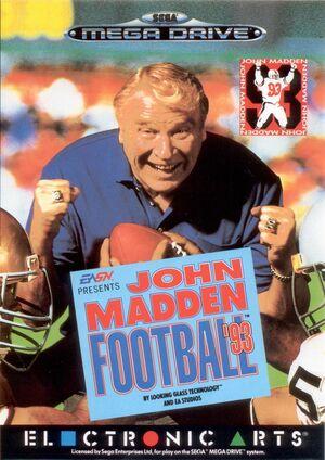 Cover for John Madden Football '93.