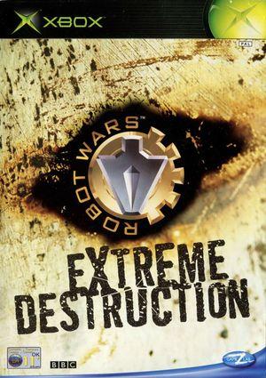Cover for Robot Wars: Extreme Destruction.