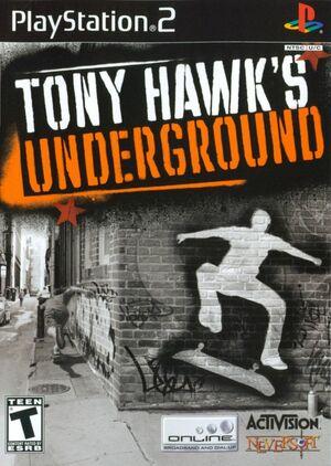 Cover for Tony Hawk's Underground.
