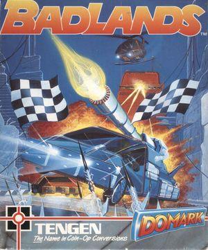 Cover for Badlands.
