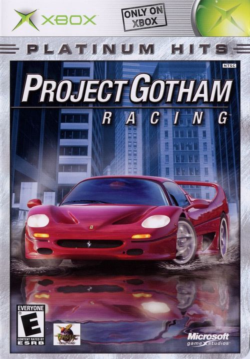 Cover for Project Gotham Racing.